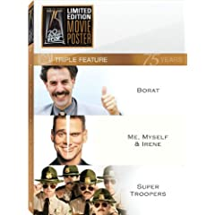 Borat/Me, Myself And Irene/Super Troopers