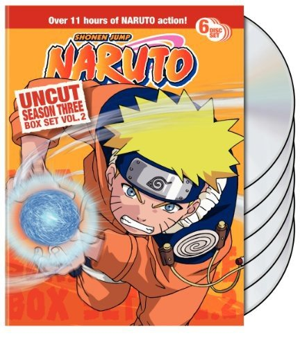 Naruto Uncut Box Set Season 3 Vol. 2
