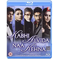 Kabhi Alvida Naa Kehna - Karan Johar (Hindi Film / Bollywood Movie / Indian Cinema Blu-ray Disc)