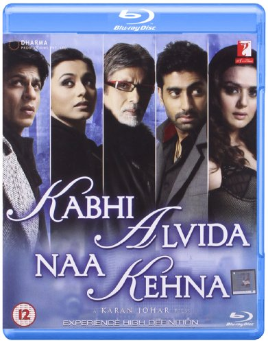 Kabhi Alvida Naa Kehna - Karan Johar (Hindi Film / Bollywood Movie / Indian Cinema Blu-ray Disc)