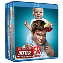 Dexter: Seasons One-Four [Blu-ray]