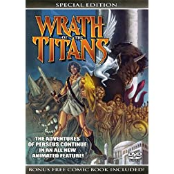 Wrath of The Titans (Special Edition) with Bonus Comic Book