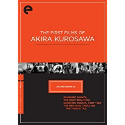 Eclipse Series 23: The First Films of Akira Kurosawa (The Criterion Collection) (Sanshiro Sugata / The Most Beautiful / Sanshiro Sugata, Part Two / The Men Who Tread on the Tiger's Tail)