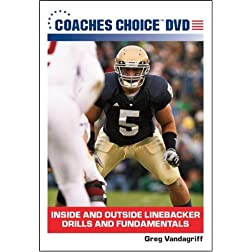 Inside and Outside Linebacker Drills and Fundamentals