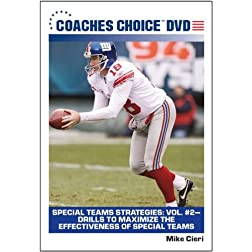 Special Teams Strategies: Vol 2 Drills to Maximize the Effectiveness of Special Teams