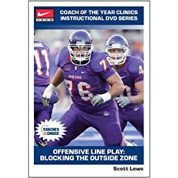 Offensive Line Play: Blocking the Outside Zone
