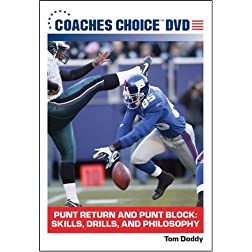 Punt Return and Punt Block: Skills, Drills, and Philosophy