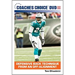 Defensive Back Technique From an Off-Alignment