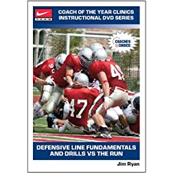 Defensive Line Fundamentals and Drills Vs the Run
