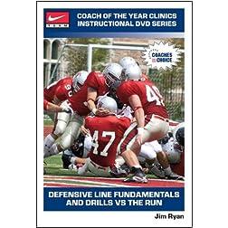 Defensive Line Fundamentals and Drills Vs the Run