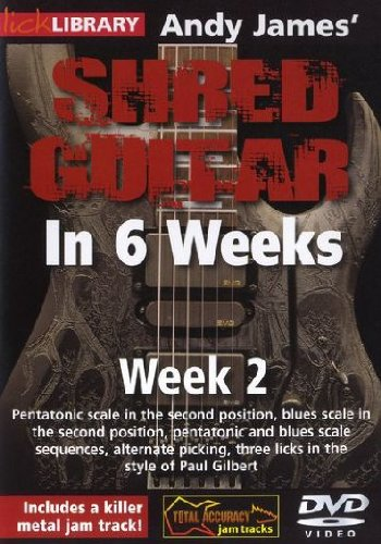 Andy James Shred Guitar in 6 Weeks: Week 2 DVD