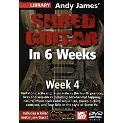 Shred Guitar In 6 Weeks: Week 4 DVD
