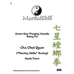 """Praying Mantis Kung Fu: Cha Chui (""""Piercing Strike"""") DVD"""