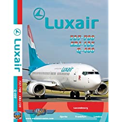 Luxair Boeing 737-700, Dash 8 Q-400, Embraer 135