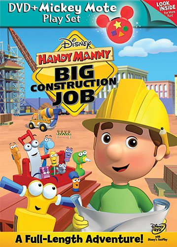 Handy Manny: Big Construction Job - DVD with Mickey Mote
