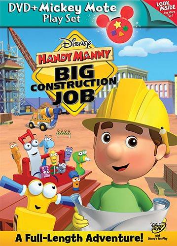 Handy Manny: Big Construction Job - DVD with Mickey Mote