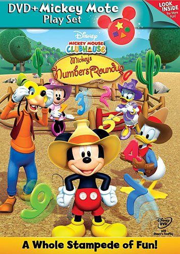 Mickey Mouse Clubhouse: Mickey's Numbers Roundup - DVD with Mickey Mote