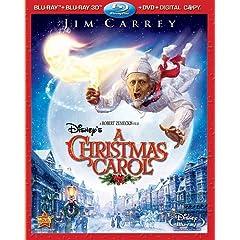 Disney's A Christmas Carol (Four-Disc Combo: Blu-ray 3D / Blu-ray / DVD / Digital Copy)
