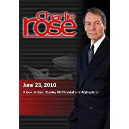 Charlie Rose -A look at Gen. Stanley McChrystal and Afghanistan (June 23, 2010)