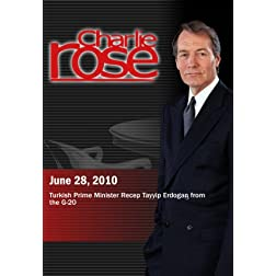 Charlie Rose -  Prime Minister Recep Tayyip Erdogan (June 28 2010)