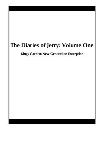 The Diaries of Jerry: Volume One