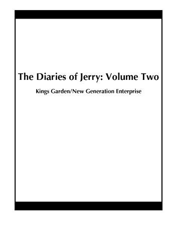 The Diaries of Jerry: Volume Two