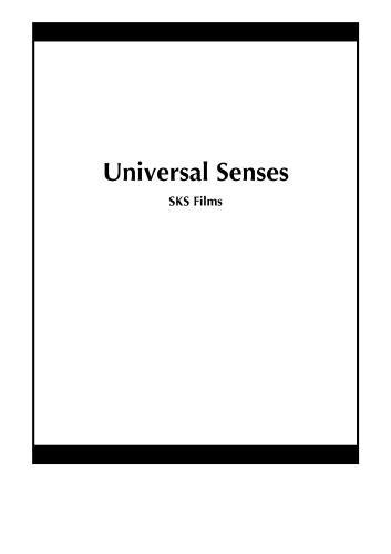 Universal Senses