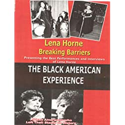 Lena Horne Breaking Barriers- History on Videon DVD