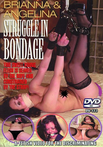 Brianna & Angelina Struggle in Bondage