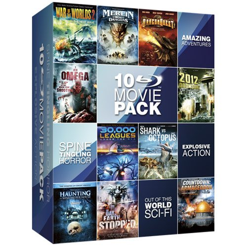 Sci-Fi Movie Collection Box Set [Blu-Ray]