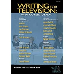 Writing For Television: What You Need to Know (four-disc set)