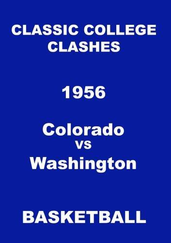 1956 Colorado vs Washington Basketball