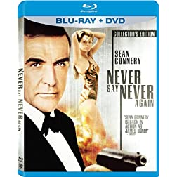 Never Say Never Again (Blu-ray + DVD) [Blu-ray]