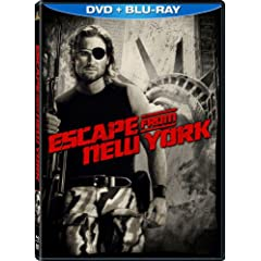 Escape From New York (Blu-ray/DVD Combo w/ DVD Packaging)