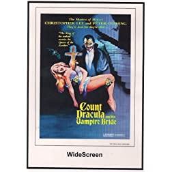 Count Dracula and His Vampire Bride Widescreen 1973