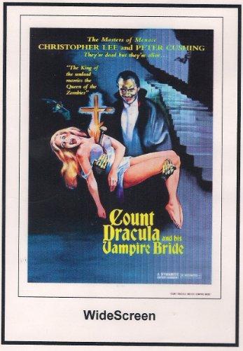 Count Dracula and His Vampire Bride Widescreen 1973