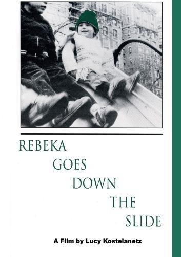Rebeka Goes Down The Slide