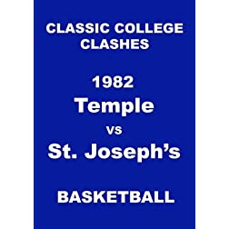 1982 Temple vs St. Joseph's Basketball