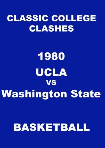 1980 UCLA vs Washington State Basketball