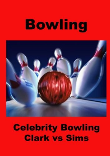 Celebrity Bowling - Rickey Clark vs Duke Sims