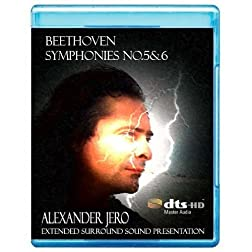 Beethoven: Symphony No. 5 'Fate' & 6 - The New Dimension of Sound Symphonic Series [7.1 DTS-HD Master Audio Disc] [Blu-ray]