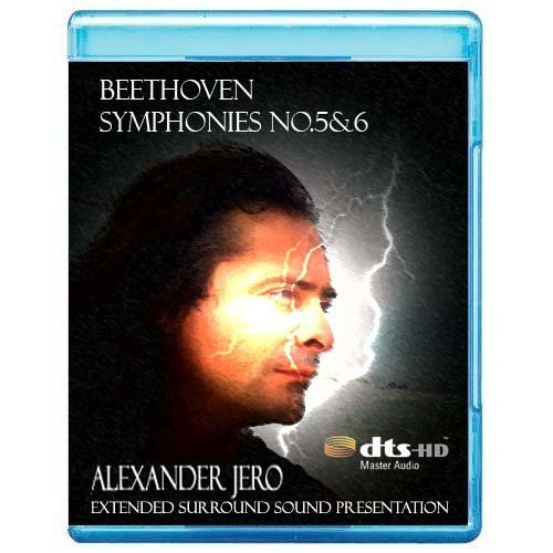 Beethoven: Symphony No. 5 & 6 - The New Dimension of Sound Symphonic Series [7.1 DTS-HD Master Audio Disc] [Blu-ray]
