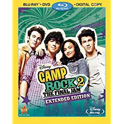 Camp Rock 2: The Final Jam - Extended Edition (Three-Disc Blu-ray/DVD Combo +Digital Copy)