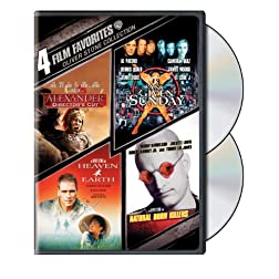 Oliver Stone Collection: 4 Film Favorites (Alexander Director's Cut / Any Given Sunday / Heaven and Earth / Natural Born Killers)
