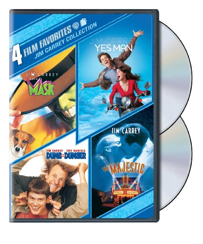 Jim Carrey Collection: 4 Film Favorites (The Mask / Yes Man / Dumb and Dumber / The Majestic)
