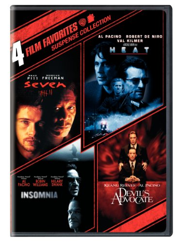 Suspense Collection: 4 Film Favorites: (Seven / Heat / Insomnia / The Devil's Advocate)
