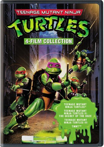 Teenage Mutant Ninja Turtles: 4 Film Favorites (Teenage Mutant Ninja Turtles / Teenage Mutant Ninja Turtles II / Teenage Mutant Ninja Turtles III / TMNT)