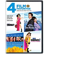 Sandra Bullock Comedy Collection: 4 Film Favorites (Miss Congeniality / Two Weeks Notice / Divine Secrets of the Ya-Ya Sisterhood / Miss Congeniality 2 Armed & Fabulous)