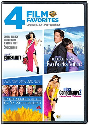 Sandra Bullock Comedy Collection: 4 Film Favorites (Miss Congeniality / Two Weeks Notice / Divine Secrets of the Ya-Ya Sisterhood / Miss Congeniality 2 Armed & Fabulous)