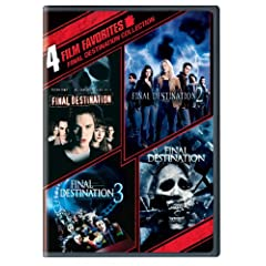 Final Destination Collection: 4 Film Favorites (Final Destination / Final Destination 2 / Final Destination 3 / The Final Destination)